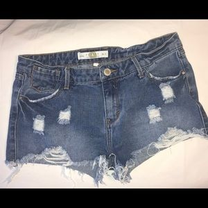 Papayaya Women Jeans Shorts Size Medium 9